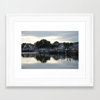 boats Framed Art Prints featuring boats by thomsjohns