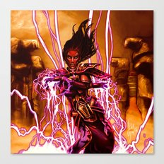 SWTOR - Force Storm Canvas Print