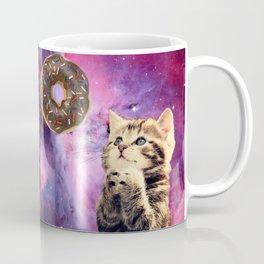Donut Praying Cat Coffee Mug