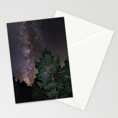 Summer Milkyway. At the mountains Stationery Cards