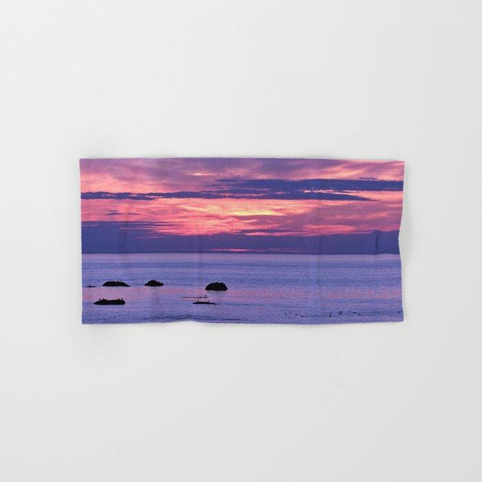 Surreal Sunset Hand & Bath Towel