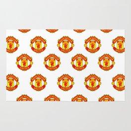 Manchester United Logo Rug