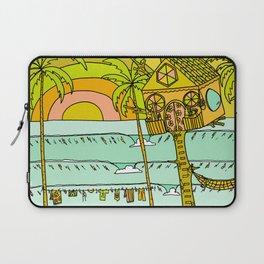 Tree House Free House surf paradise Laptop Sleeve