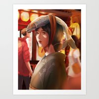 What a Lovely Hat, Miss Art Print