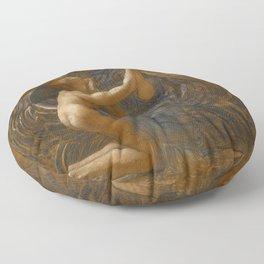"Sir William Blake Richmond ""La Vierge Consolatrice"" Floor Pillow"