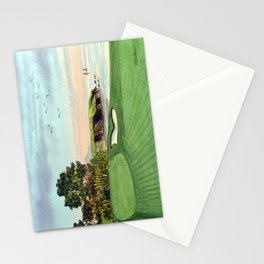 Pebble Beach Golf Course 5th Hole Stationery Cards