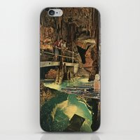 nick cave iPhone & iPod Skins featuring Cave by Sarah Eisenlohr