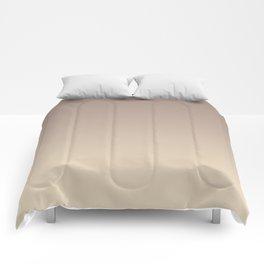 Gradient  beige, brown. Comforters