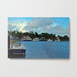 Calabash Waterfront Metal Print
