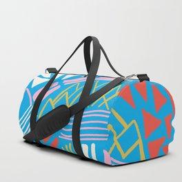 cascade, abstract terrain Duffle Bag