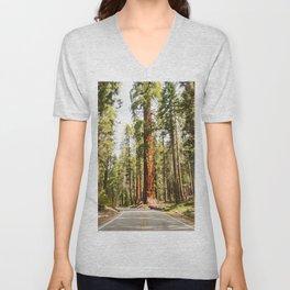 sequoia tree Unisex V-Neck