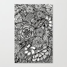 Peony Fascination Canvas Print