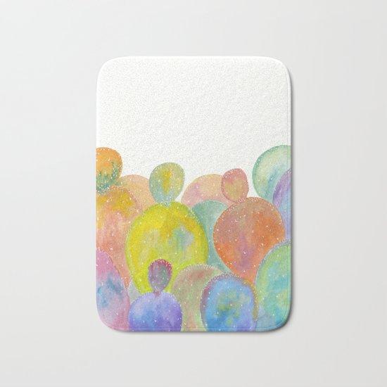 Rainbow Cactus Bath Mat