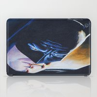 bat man iPad Cases featuring Bat man by ThatOneGirl_Lucy