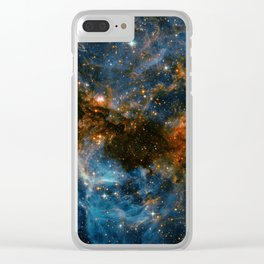 Galaxy Storm Clear iPhone Case