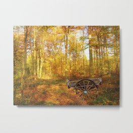 The Woodsman's Glade. Metal Print