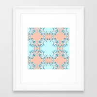 baroque Framed Art Prints featuring Baroque by Charlotte Goodman
