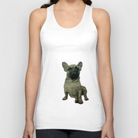 frenchie Tank Tops featuring Frenchie by Mi Nu Ra