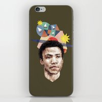 caleb troy iPhone & iPod Skins featuring Troy by mycolour
