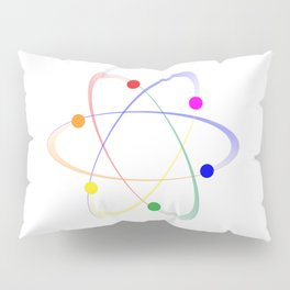 LGBT Whirling Atoms Pillow Sham