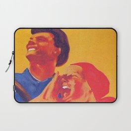 We are the future - Soviet union propaganda poster  Laptop Sleeve