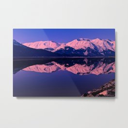 Rose Alpenglow Metal Print