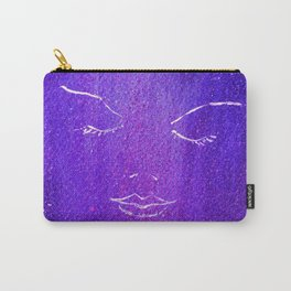 Mysterious Woman Carry-All Pouch