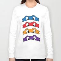 tmnt Long Sleeve T-shirts featuring TMNT by Kaylabeaisaflea