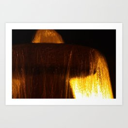 Fountain of Light Art Print