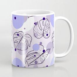 Monstera (Bubbles) - Lavender Coffee Mug