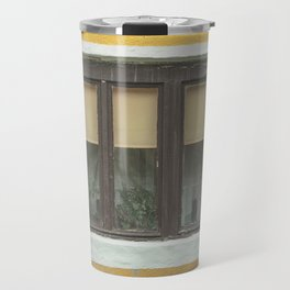 Yellow Window Travel Mug