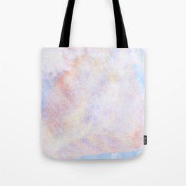 Pastel Organic Spaceship Tote Bag