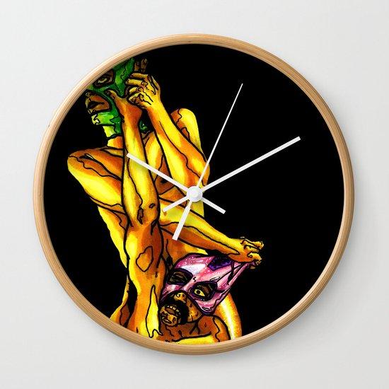 """Raw Power"" by Cap Blackard Wall Clock"