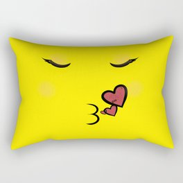 Pucker Up Rectangular Pillow