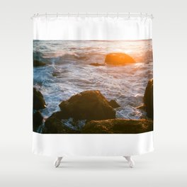 cape sunset Shower Curtain