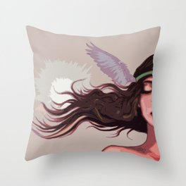 Ava (graphic edition) Throw Pillow