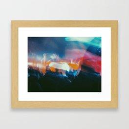 Lost In Tha Show Framed Art Print