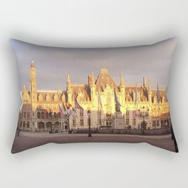 The Provincial Court of Bruges Rectangular Pillow