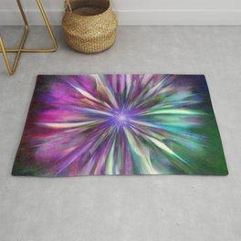 Colorful star  Rug