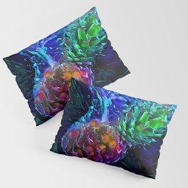 Pineapple: Splash Into Blacklight Pillow Sham