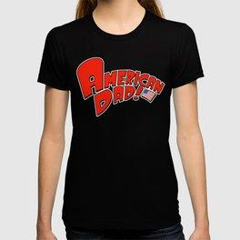 usa dad T-shirt