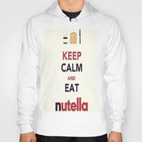 nutella Hoodies featuring Nutella by Iotara