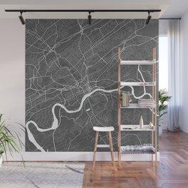 Knoxville USA Modern Map Art Print Wall Mural