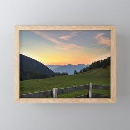 Kemater Alm Framed Mini Art Print