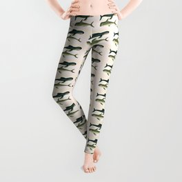 Save the whales  Leggings