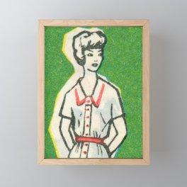 Fashion ´65 # 3 Framed Mini Art Print