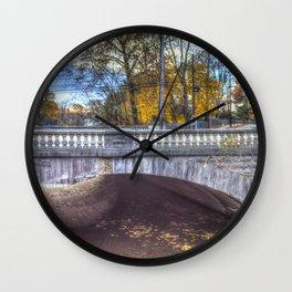The Headless Horseman Bridge Wall Clock