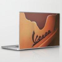 vespa Laptop & iPad Skins featuring Vespa by Leandro