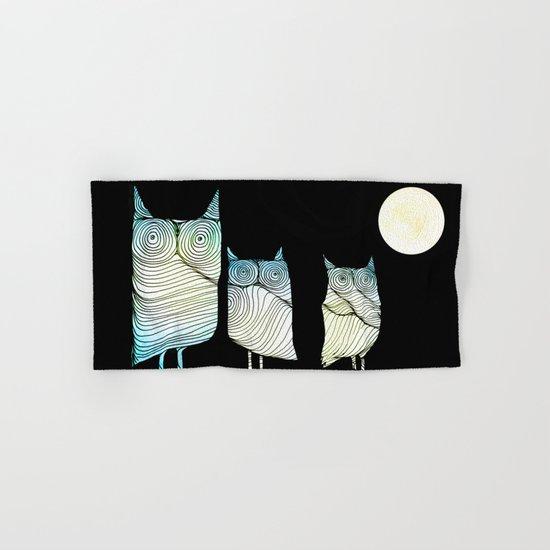 Owls Hand & Bath Towel