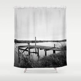The Whitebait Stand Shower Curtain